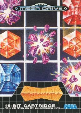 Carátula de Columns para Mega Drive