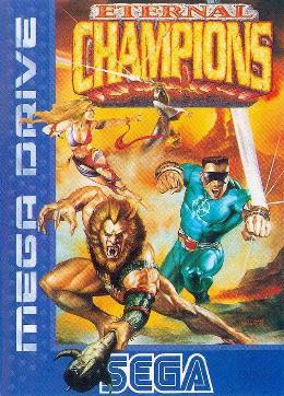 Carátula de Eternal Champions para Mega Drive