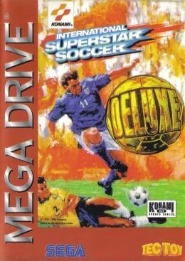 Carátula o portada Brasileña del juego International Superstar Soccer Deluxe para Mega Drive