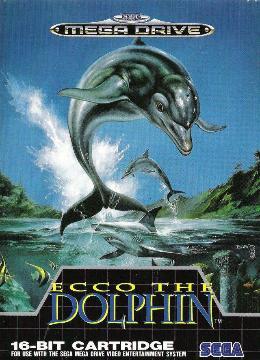 Carátula de Ecco the Dolphin para Mega Drive