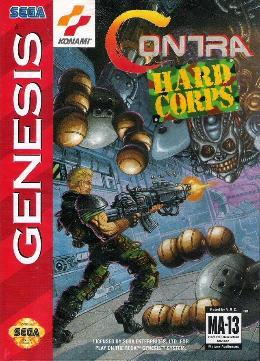 Carátula o portada EEUU del juego Probotector para Mega Drive