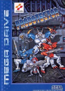 Carátula de Probotector para Mega Drive