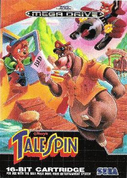 Carátula o portada Europea del juego Disney's TaleSpin para Mega Drive
