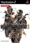 Carátula o portada Japonesa del juego Metal Gear Solid 3: Snake Eater para PlayStation 2