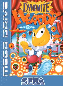 Carátula de Dynamite Headdy para Mega Drive