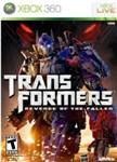 Carátula de Transformers: La venganza de los caídos - El videojuego para Xbox 360
