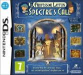 Carátula de El profesor Layton y la llamada del espectro para Nintendo DS