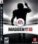 Carátula de Madden NFL 10 para PlayStation 3