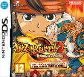 Carátula de Inazuma Eleven 2: Tormenta de fuego para Nintendo DS