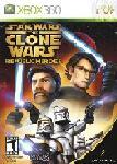 Carátula de Star Wars The Clone Wars: Héroes de la República para Xbox 360