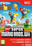 Car�tula de New Super Mario Bros. Wii para Wii