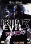 Carátula o portada EEUU del juego Resident Evil 3: Nemesis para GameCube