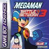 Carátula de Megaman Battle Network 3 Blue para Game Boy Advance
