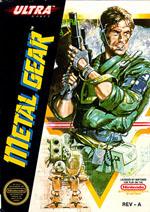 Carátula de Metal Gear para NES