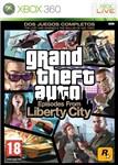 Carátula de Grand Theft Auto: Episodes from Liberty City para Xbox 360