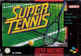 Carátula de Super Tennis para Super Nintendo
