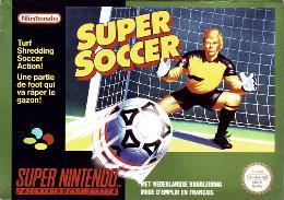 Carátula de Super Soccer para Super Nintendo
