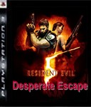 Carátula de Resident Evil 5: Evasión a la desesperada