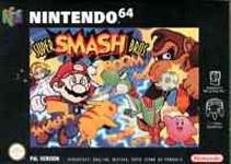 Carátula de Super Smash Bros.