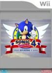 Carátula de Sonic the Hedgehog 4: Episode 1 para Wii CV - Wii Ware