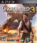 Carátula o portada EEUU del juego Uncharted 3: La traición de Drake para PlayStation 3