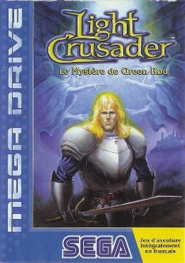 Carátula de Light Crusader para Mega Drive
