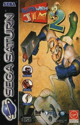 Carátula de Earthworm Jim 2 para Saturn