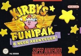 Carátula de Kirby's Fun Pak para Super Nintendo