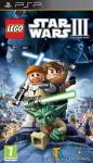 Carátula de Lego Star Wars III: The Clone Wars para PlayStation Portable