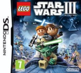 Carátula de Lego Star Wars III: The Clone Wars para Nintendo DS