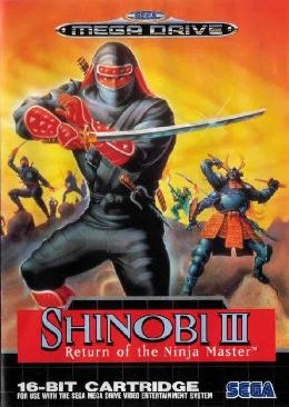 Carátula de Shinobi III: Return of the Ninja Master para Mega Drive