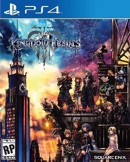 Carátula o portada EEUU del juego Kingdom Hearts III para PlayStation 4