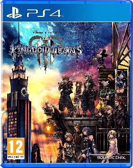 Carátula de Kingdom Hearts III para PlayStation 4