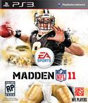 Carátula de Madden NFL 11 para PlayStation 3