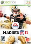 Carátula de Madden NFL 11 para Xbox 360
