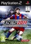 Carátula de Pro Evolution Soccer 2011 para PlayStation 2