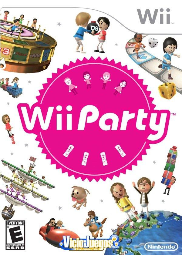 El videojuego de vuestra infancia  WiipartyusboxG