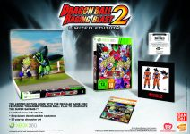 Carátula o portada Europea Edición Limitada del juego Dragon Ball: Raging Blast 2 para Xbox 360