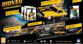Carátula o portada Edición Coleccionista - Multiplataforma del juego Driver: San Francisco para PC