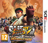 Car�tula de Super Street Fighter IV 3D Edition