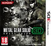 Carátula de Metal Gear Solid 3DS: Snake Eater para Nintendo 3DS