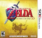 Carátula de The Legend of Zelda: Ocarina of Time 3D para Nintendo 3DS