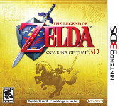 Carátula de The Legend of Zelda: Ocarina of Time 3D