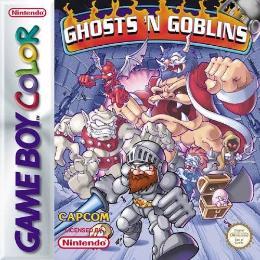 Carátula de Ghosts 'n Goblins para Game Boy Color