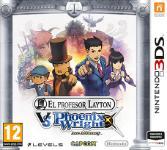 Carátula de El profesor Layton vs. Phoenix Wright: Ace Attorney para Nintendo 3DS