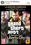 Carátula de Grand Theft Auto IV: Complete Edition para PC
