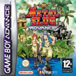 Carátula de Metal Slug Advance