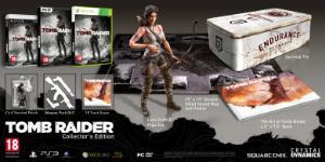 Carátula o portada Edición Coleccionista del juego Tomb Raider (2013) para PlayStation 3
