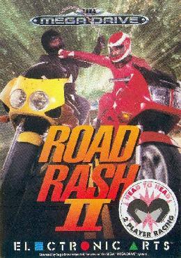 Carátula de Road Rash II para Mega Drive