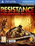 Carátula de Resistance Burning Skies para PlayStation Vita